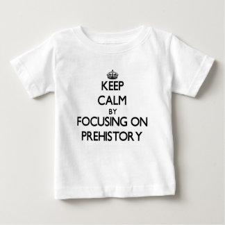 Guarde la calma centrándose en prehistoria playera