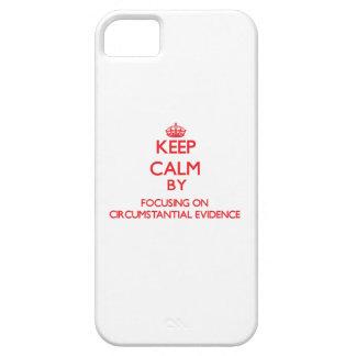 Guarde la calma centrándose en prueba iPhone 5 Case-Mate cobertura