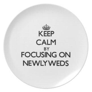 Guarde la calma centrándose en recienes casados