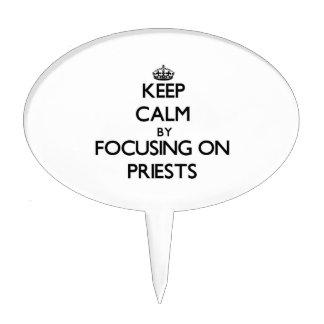 Guarde la calma centrándose en sacerdotes
