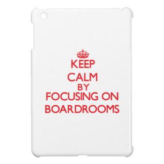 Guarde la calma centrándose en salas de reunión