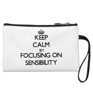 Guarde la calma centrándose en sensibilidad