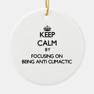 Guarde la calma centrándose en ser Anti-Culminante Adorno