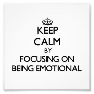 Guarde la calma centrándose en SER EMOCIONAL