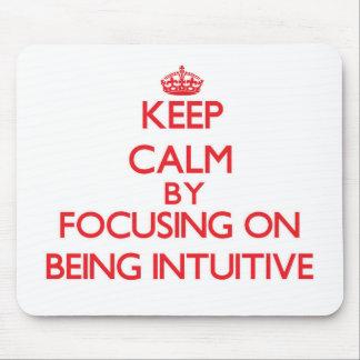 Guarde la calma centrándose en ser intuitivo mouse pad