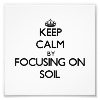 Guarde la calma centrándose en suelo