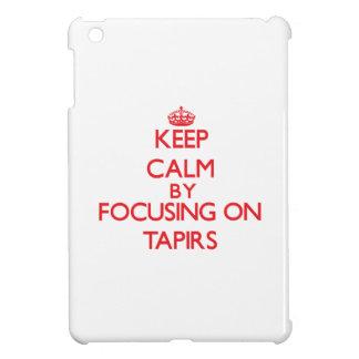 Guarde la calma centrándose en Tapirs