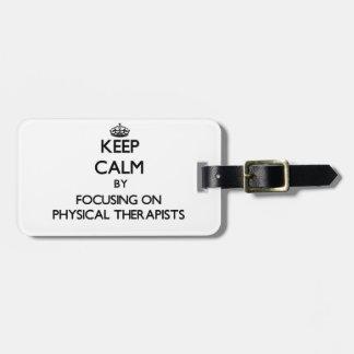 Guarde la calma centrándose en terapeutas físicos
