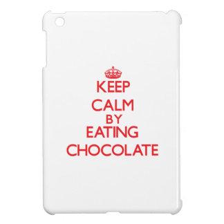 Guarde la calma comiendo el chocolate