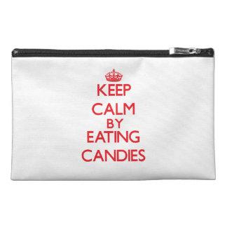 Guarde la calma comiendo los caramelos