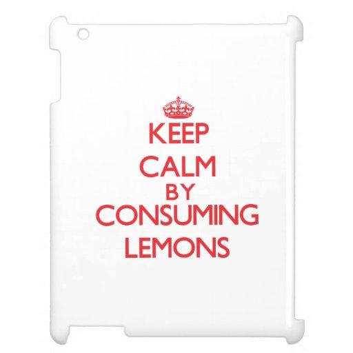 Guarde la calma consumiendo los limones
