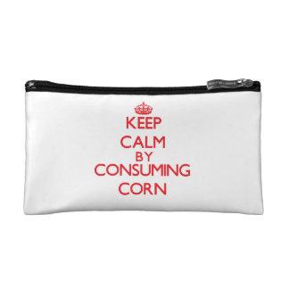 Guarde la calma consumiendo maíz