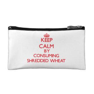 Guarde la calma consumiendo trigo destrozado