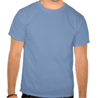 Guarde la calma e incline a su camarera camisetas