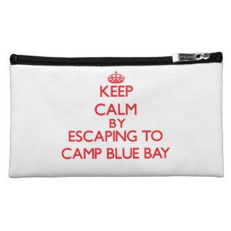 Guarde la calma escapándose a acampar bahía azul N