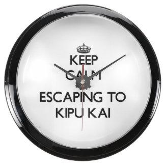 Guarde la calma escapándose a Kipu Kai Hawaii Reloj Aquavista