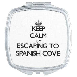 Guarde la calma escapándose a la ensenada española espejo de viaje