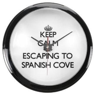 Guarde la calma escapándose a la ensenada española relojes aquavista