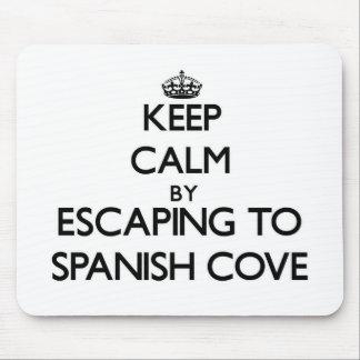 Guarde la calma escapándose a la ensenada española mouse pads