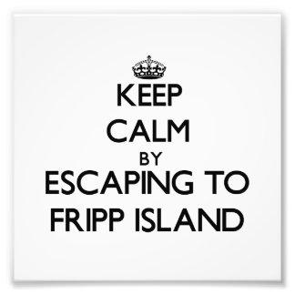 Guarde la calma escapándose a la isla al sur Carol Foto