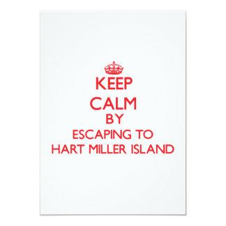 Guarde la calma escapándose a la isla Maryla de Invitacion Personal