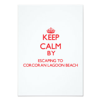 Guarde la calma escapándose a la playa caloría de anuncios personalizados