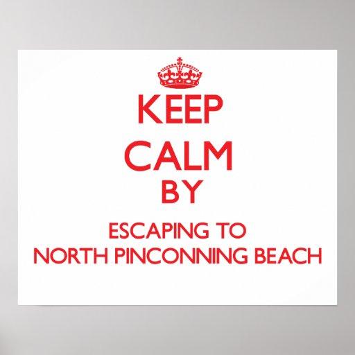 Guarde la calma escapándose a la playa del norte M Impresiones