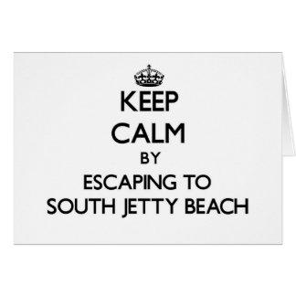 Guarde la calma escapándose a la playa del sur la