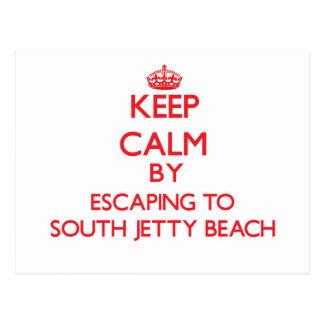 Guarde la calma escapándose a la playa del sur la postal