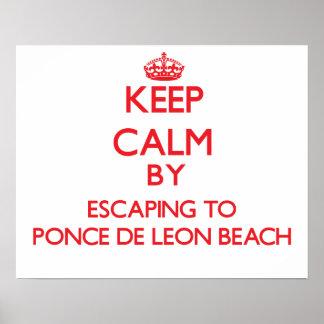 Guarde la calma escapándose a la playa Flori de Po
