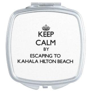Guarde la calma escapándose a la playa Hawai de Ka Espejo Maquillaje