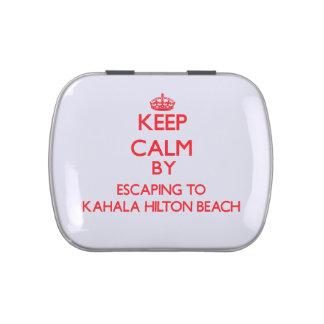 Guarde la calma escapándose a la playa Hawai de Ka Frascos De Caramelos
