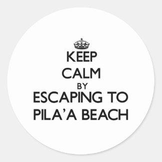 Guarde la calma escapándose a la playa Hawaii de P