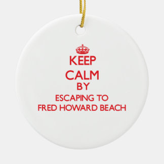 Guarde la calma escapándose a la playa la Florida  Ornamentos De Reyes Magos