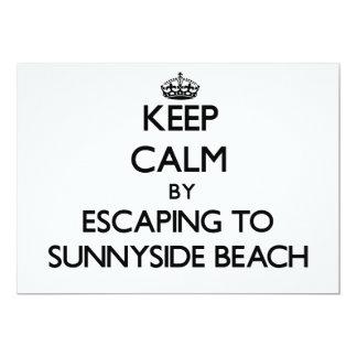 Guarde la calma escapándose a la playa la Florida Anuncio Personalizado
