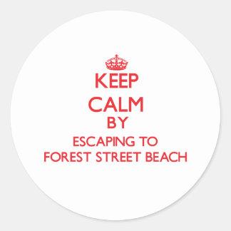 Guarde la calma escapándose a la playa Massa de la Etiqueta Redonda