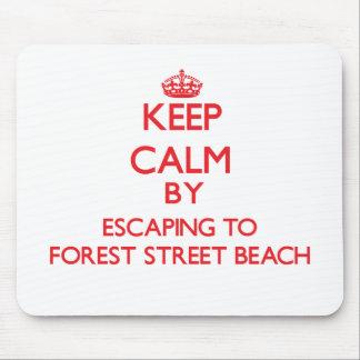 Guarde la calma escapándose a la playa Massa de la Alfombrilla De Ratón