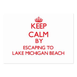 Guarde la calma escapándose a la playa Michi del l