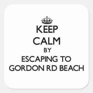 Guarde la calma escapándose a la playa Michigan de