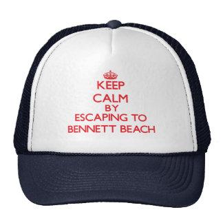 Guarde la calma escapándose a la playa Nueva York Gorra