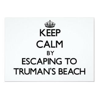 Guarde la calma escapándose a la playa Nueva York Comunicados Personalizados