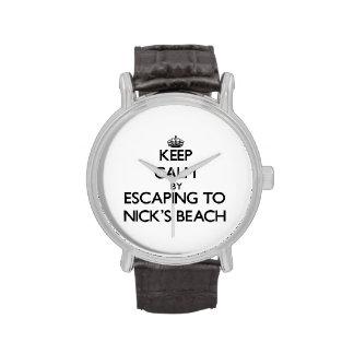 Guarde la calma escapándose a la playa Nueva York  Relojes