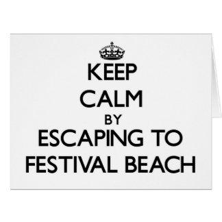 Guarde la calma escapándose a la playa Virginia de