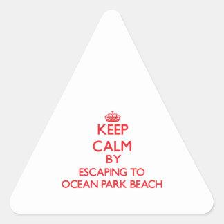 Guarde la calma escapándose a la playa Washingt de