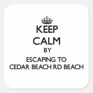 Guarde la calma escapándose a la playa Wisc del Rd