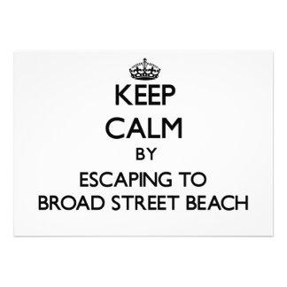 Guarde la calma escapándose a la playa Wiscon de l