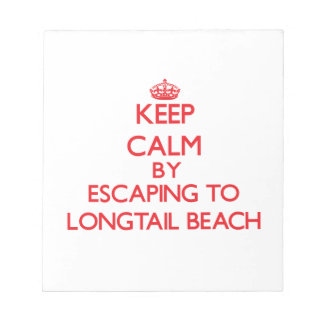 Guarde la calma escapándose a la playa Wisconsin d Libreta Para Notas