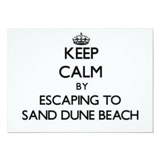 Guarde la calma escapándose a la playa Wisconsin
