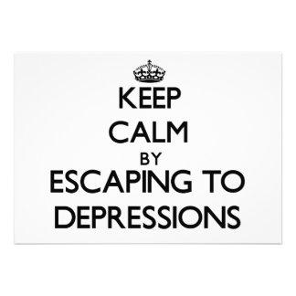 Guarde la calma escapándose a las depresiones Cali