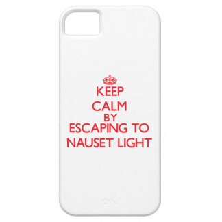 Guarde la calma escapándose a Nauset Massachusett  iPhone 5 Case-Mate Fundas
